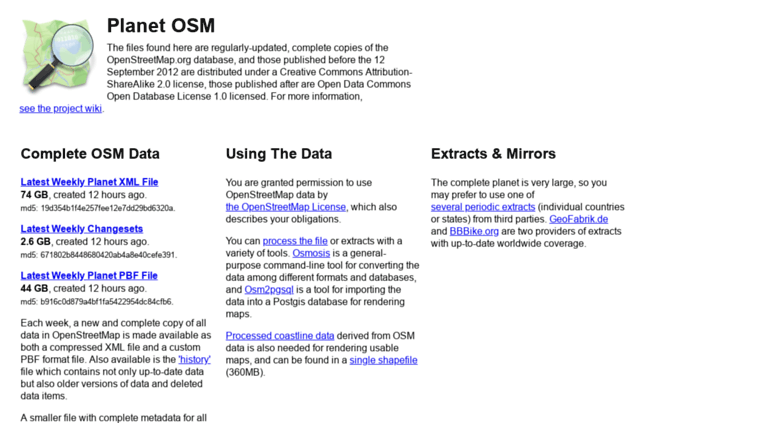 Access planet osm org  Index of /