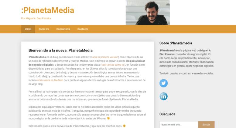 Access planetamedia com  :PlanetaMedia – Por Miguel A  Díez Ferreira