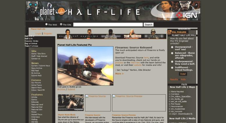 Access planethalflife gamespy com  Planet Half-Life - News