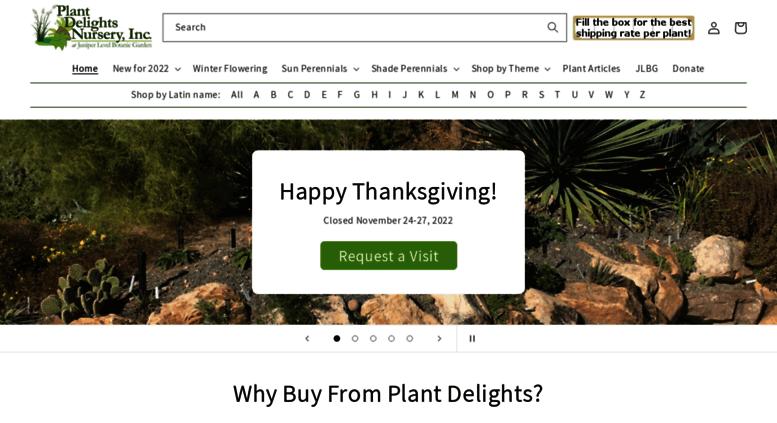 Access Plant Delights Nursery Myify Perennial