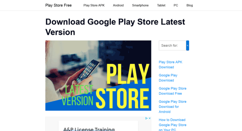 Access playstore one  ▷ DOWNLOAD Google PLAY STORE APK Latest