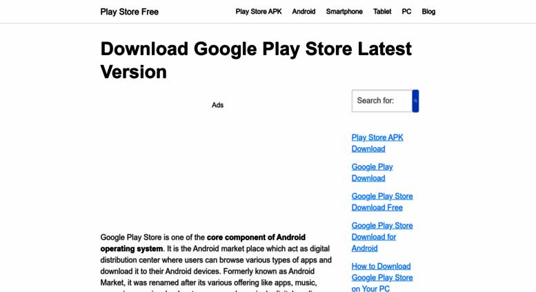 descargar apk play store para pc