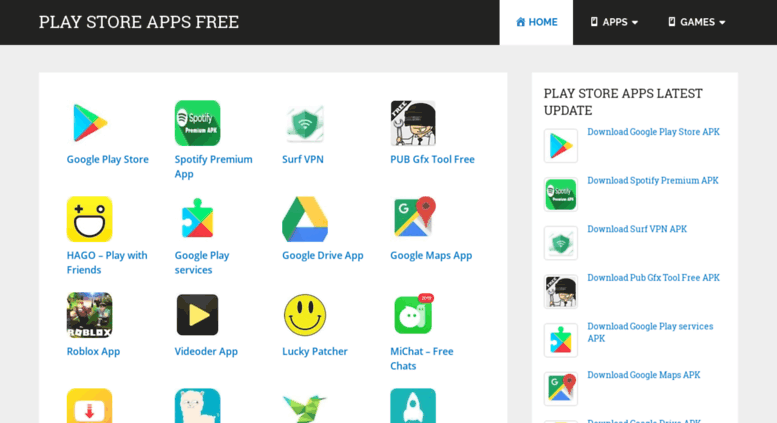 Access playstoreappsfree com  Play Store Apps Free APK Download