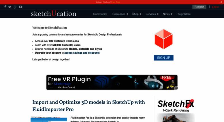 Access plugin sketchucation com  SketchUcation