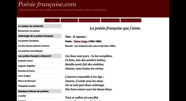 Access Poesie Francaisecom Poésie Française La Poésie