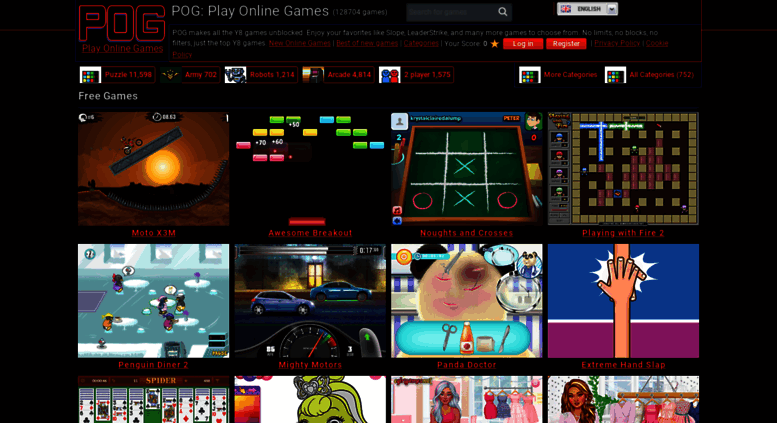 Access pog com  POG (Play Online Games) y8 Games and Dress Up