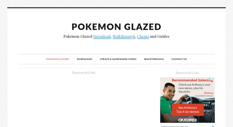 pokemon glazed download gba