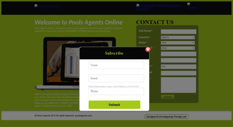 Access poolsagents com  Pools Agents | Football Pools