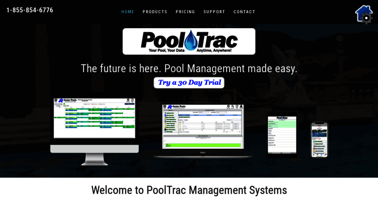 Access pooltrac com  PoolTrac swimming pool service management