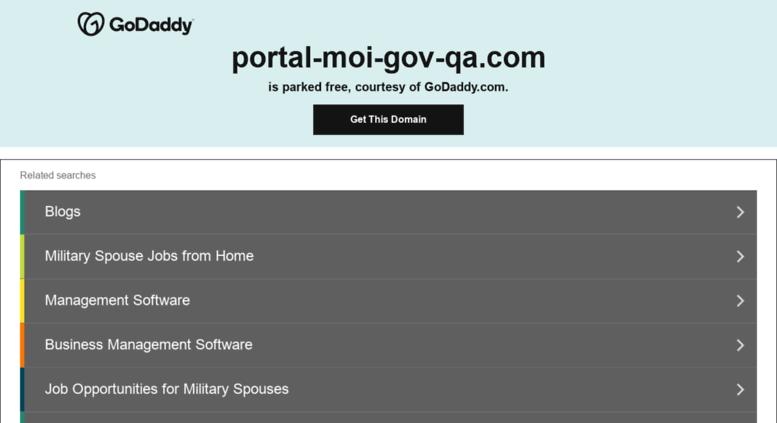 Access portal-moi-gov-qa.com. MOI Qatar - Visa Inquiry ...