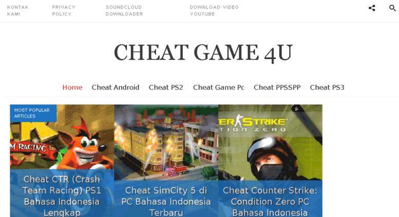 Access portal cheatgame4u com  Cheat Game 4U - Connecting