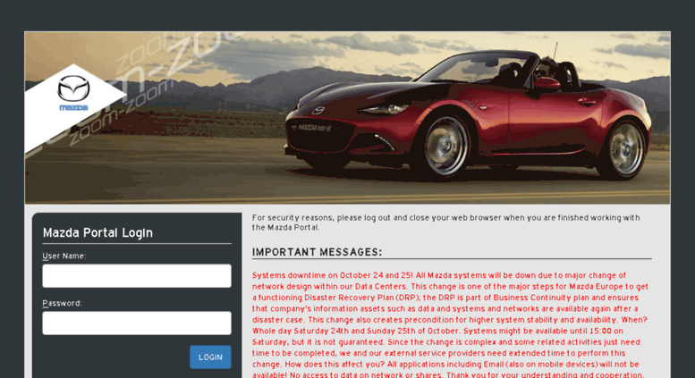 Mazda Portal Login >> Mazda Portal Login Best Upcoming Car Release 2020