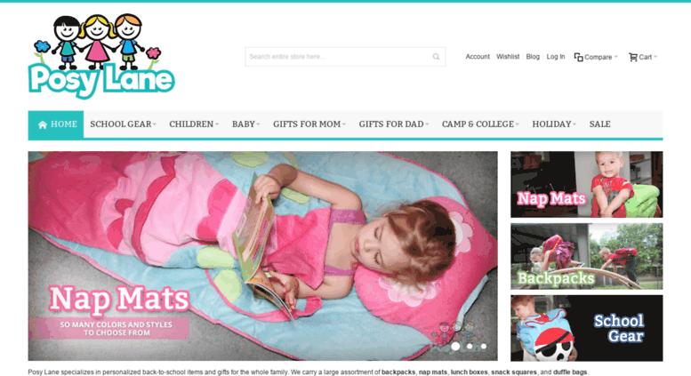 949d87c643c Access posylane.com. Posy Lane   Toddler Backpacks   Nap Mats   Kids ...