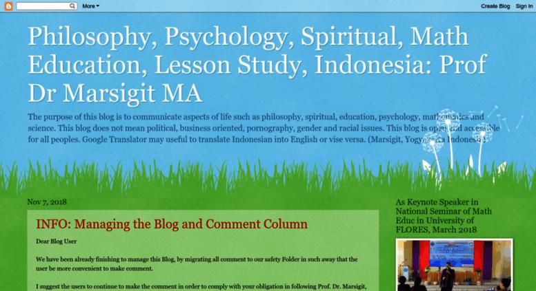 blog spiritual indonesia