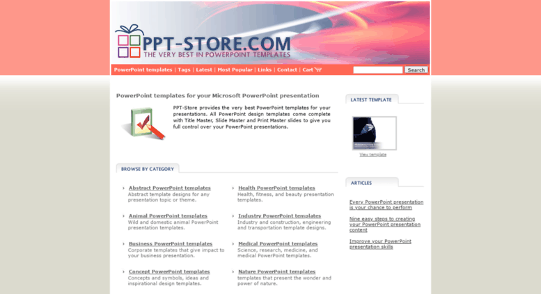 Access ppt-store com  PowerPoint templates