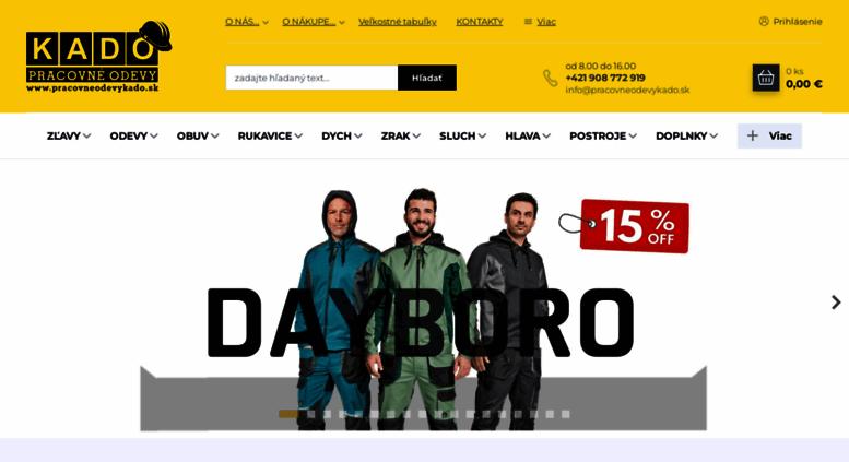24ffea094f72 Access pracovneodevykado.sk. PRACOVNÉ ODEVY KADO
