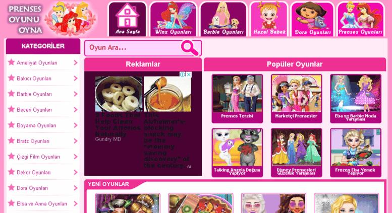 Access Prensesoyunuoynacom Prenses Oyunları Oyna Elsa Ve Anna