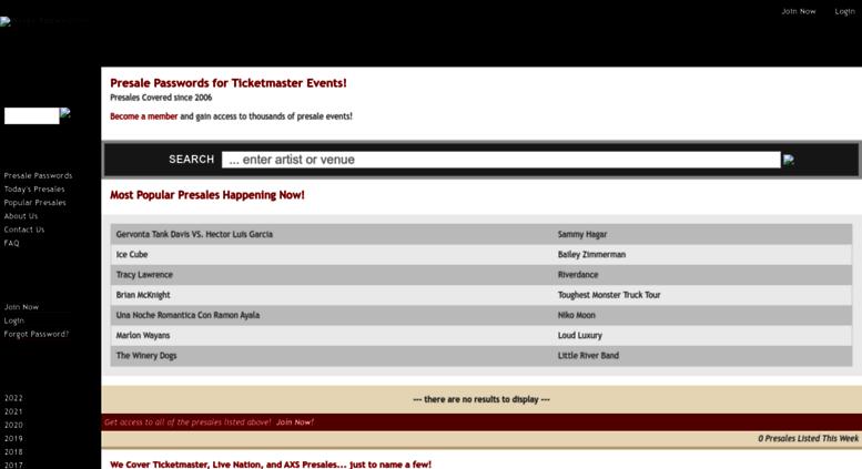 Presalep Wordinfo Com Screens