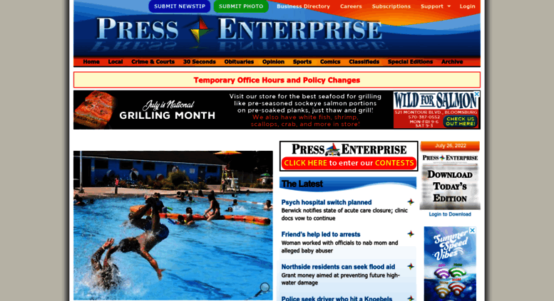 press enterprise bloomsburg pa