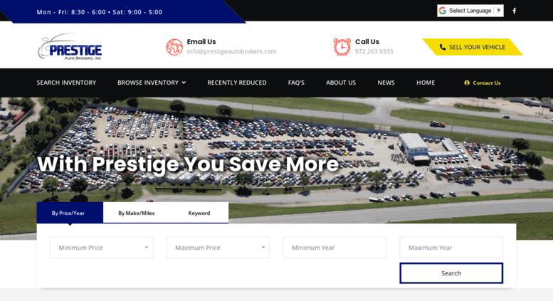 Access Prestigeautobrokers Com Prestige Auto Brokers Repairable