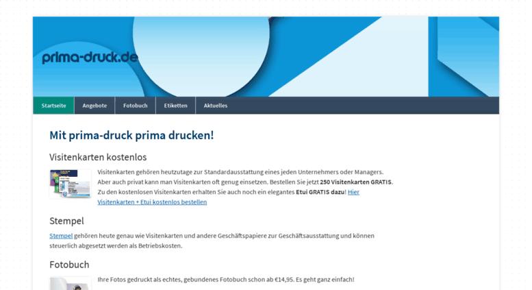 Access Prima Druck De Prima Drucken Fotobuch Kostenlose