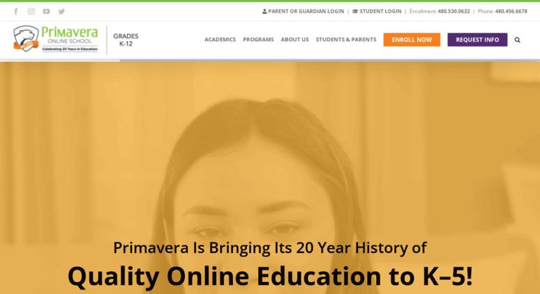 Access Primavera Online High Schoolcom Primavera Online High