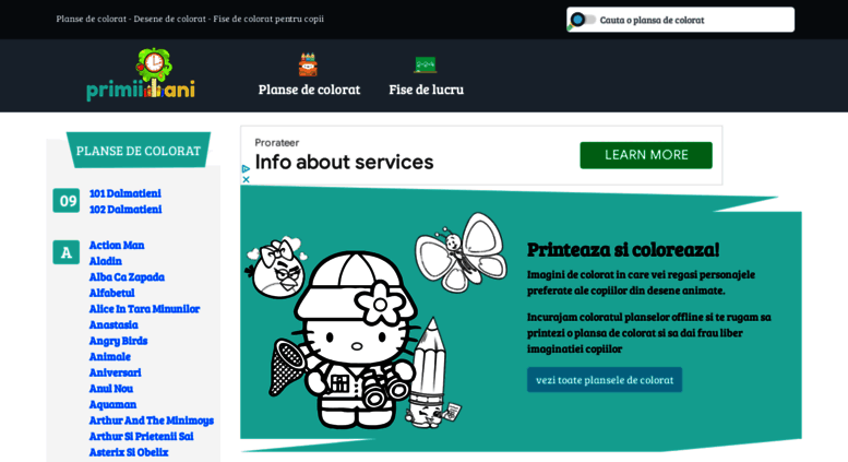 Access Primiianiro Planse De Colorat Desene De Colorat