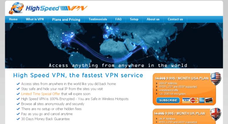 Access primovpn com  High Speed VPN  The fastest VPN service