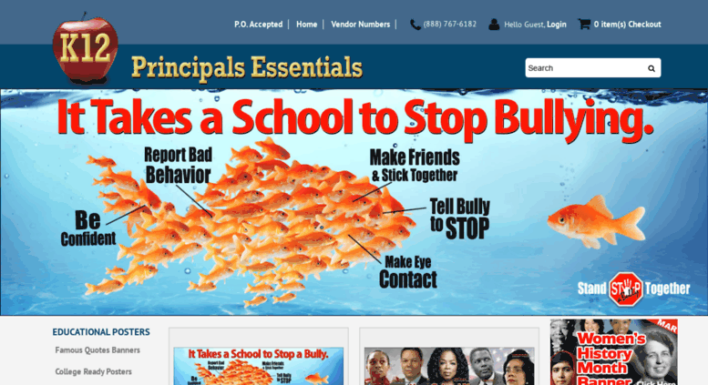 Access principalsessentials com  School Posters, Educational Banners