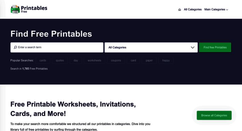 Access Printablesfree Com Free Printable Worksheets