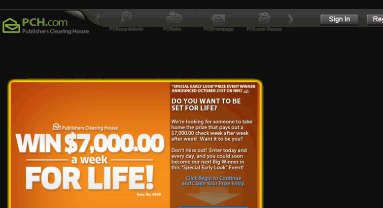 Access prizepatrol pch com  Free Online Sweepstakes