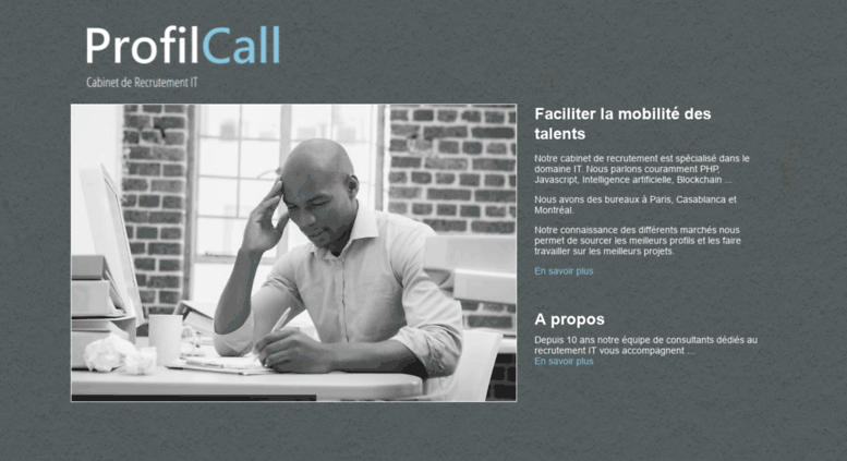 Access profilcall profilcall cabinet de recrutement it