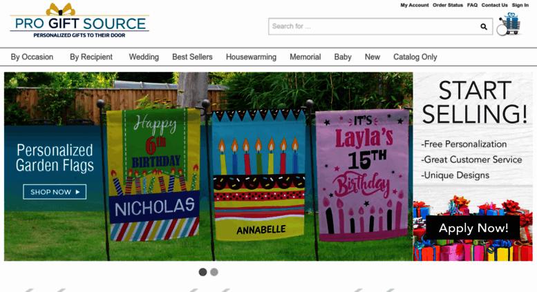 progiftsource.com screenshot
