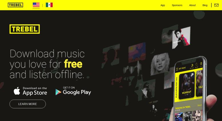 Access projectcarmen com  TREBEL MUSIC: Free Music Download App for