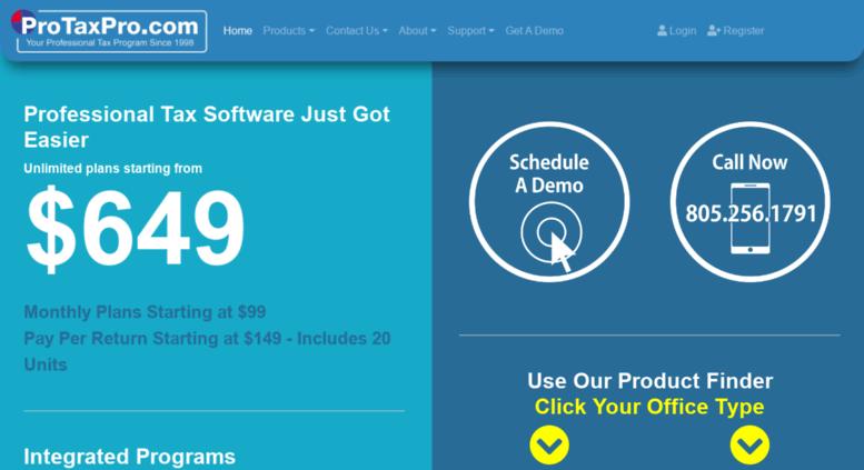Access protaxpro com  Pro Tax Pro Professional Tax Software