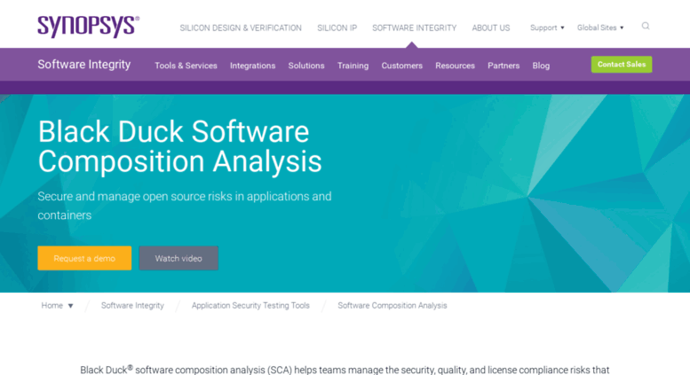 Access protecode com  Black Duck Software Composition Analysis
