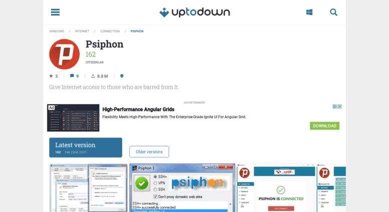 Access psiphon en uptodown com  PsiPhon 227 for Android