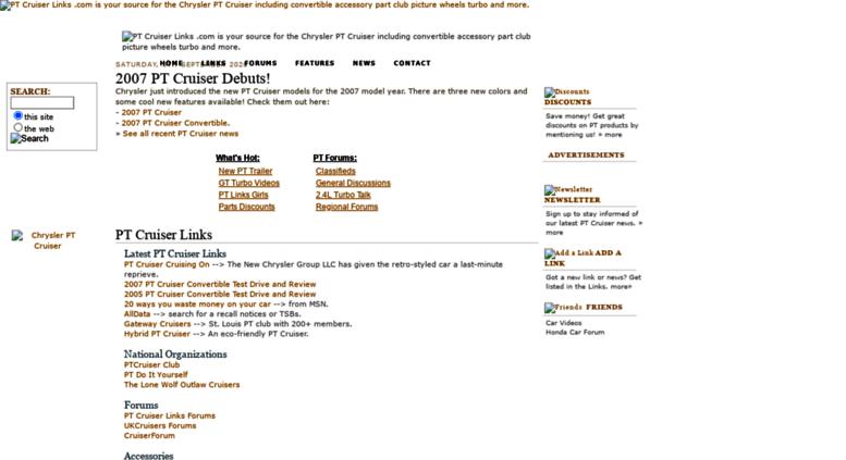 Ptcruiserlinks Screenshot