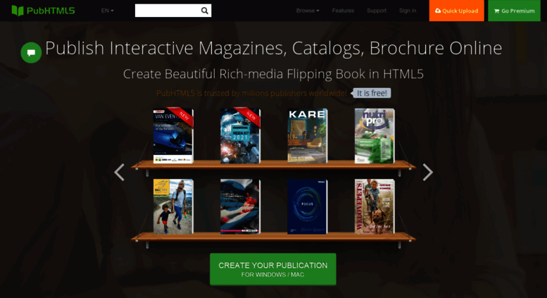 Access pubhtml5 com  Free HTML5 Digital Publishing Platform
