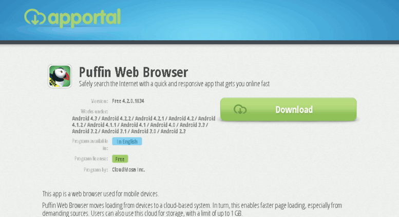 Access puffin-web-browser apportal co  Puffin Web Browser