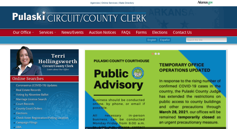 Access pulaskiclerk com  Pulaski Circuit/County Clerk