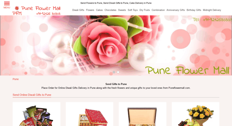 Access Puneflowermall Send Flowers To Pune Rakhi Gifts