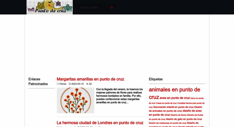 Access puntocruz.net. Punto de cruz - Colección de patrones punto de ...