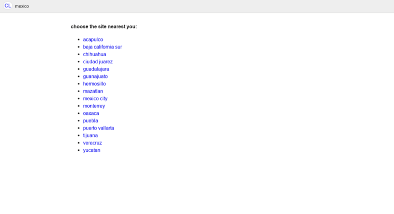 Craigslist Puerto Vallarta >> Access Pv Craigslist Com Mx Craigslist Puerto Vallarta Empleos