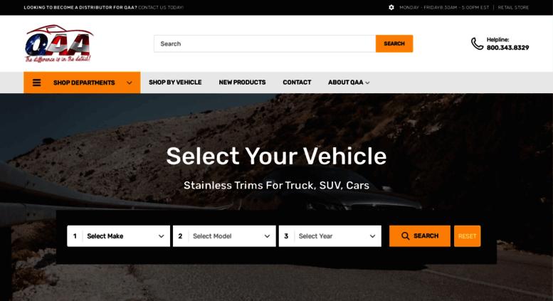 Access qaausa com  QAA - Car Accessories, SUV Accessories