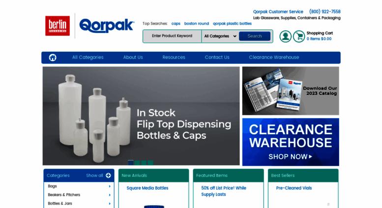 Access qorpak com  Qorpak | Lab Glassware, Lab Supplies, Lab