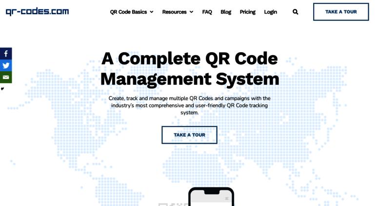 Access qr-codes com  QR Code Generator | Create Free & Trackable QR