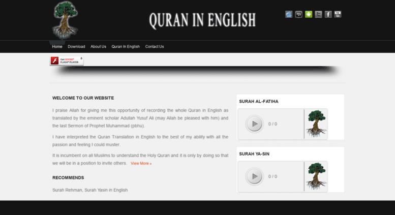 Access quraninenglish com  For Best Quran Translation visit