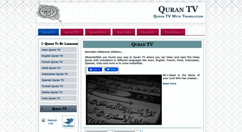 Access qurantv makkahlive net  Quran TV Online | MakkahLive Net