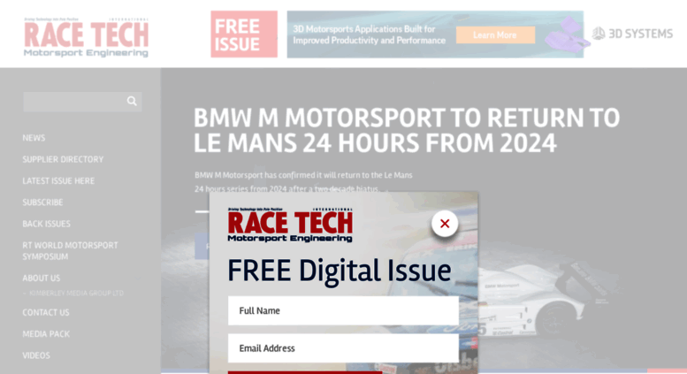 Access Racetechmag Com Home Race Tech Magazine